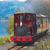 Bala Lake Railway including 2 Course Lunch