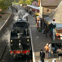 Severn Valley Railway and The Down Inn